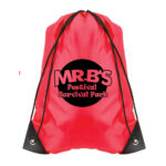 Red Bag with Black Logo (Style 2)