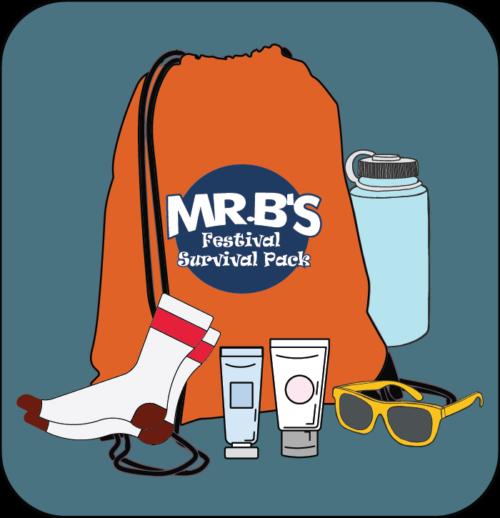 Mr. B's Festival Survival Packs